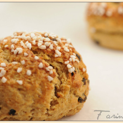 Jeffrey Hamelman's Whole Wheat Scones