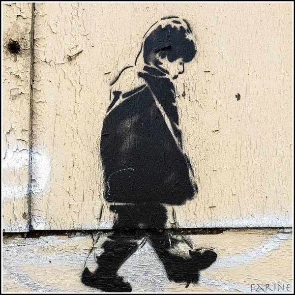 Graffiti to Noah's likeness