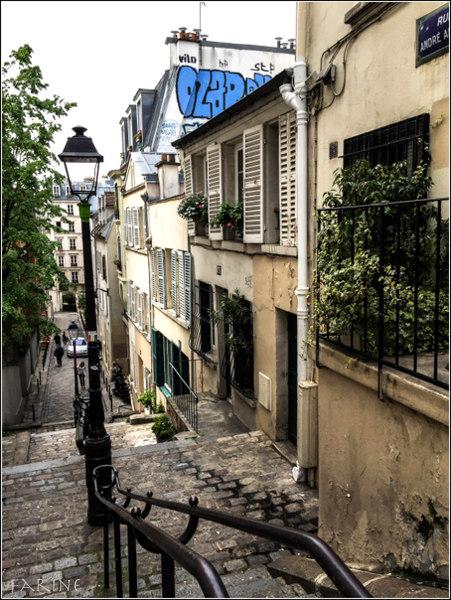 A street in Montmartre