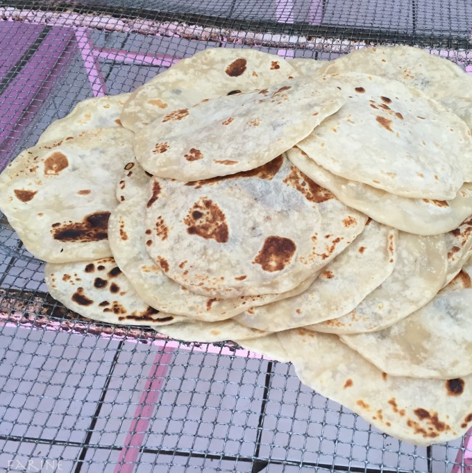 baked tortillas