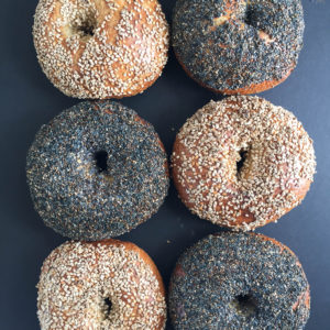 Martin Philip's Poolish Bagels