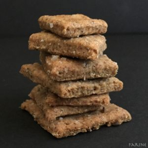 Whole-grain Rye Crackers