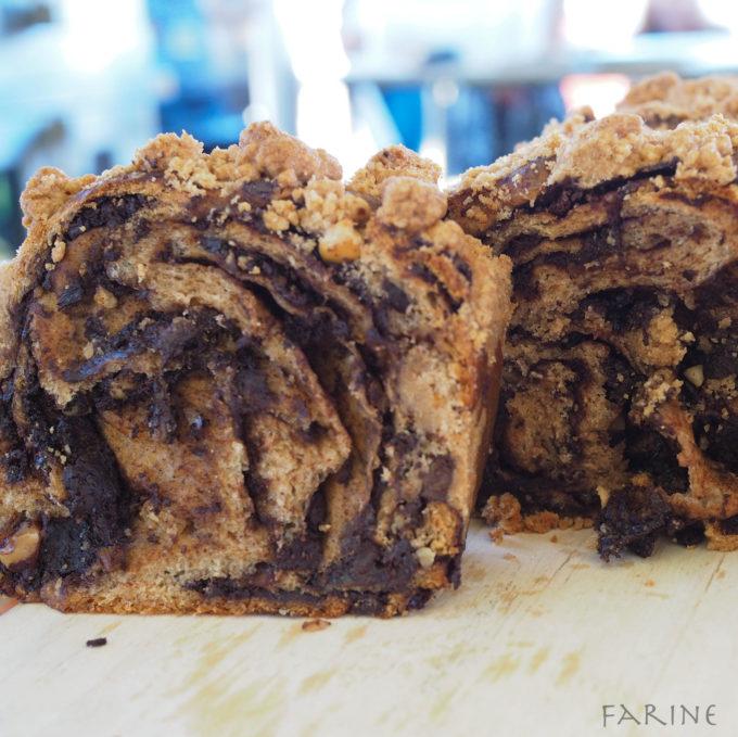 Whole-grain babka