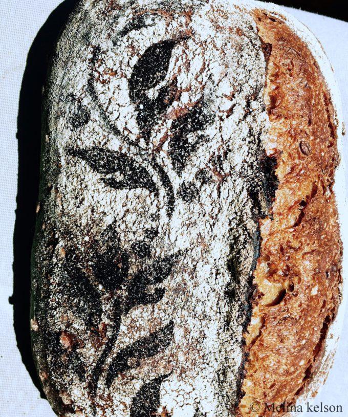 Baked SWF multigrain loaf