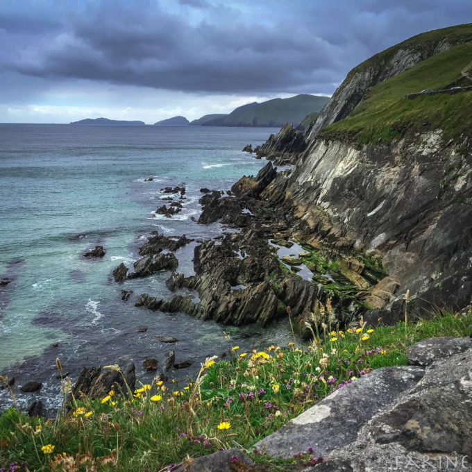 Coast in Western Ireland