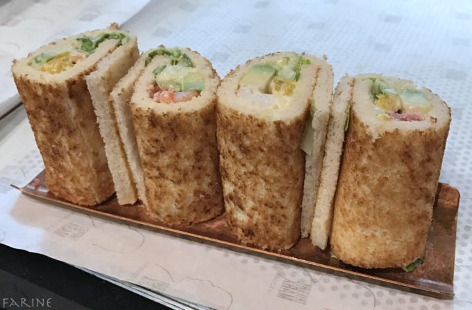 Bread makis